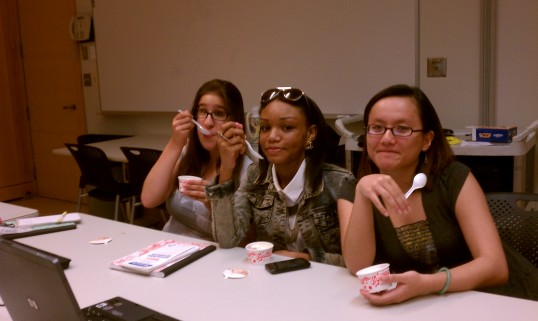 Hoodsie day, Cecilia, Ashaya and June