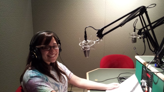 Meaghan at WNPR