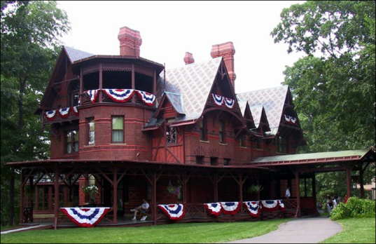 Mark Twain House, July 2013
